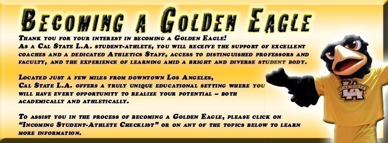 Becoming a Golden Eagle - Cal State LA Athletics