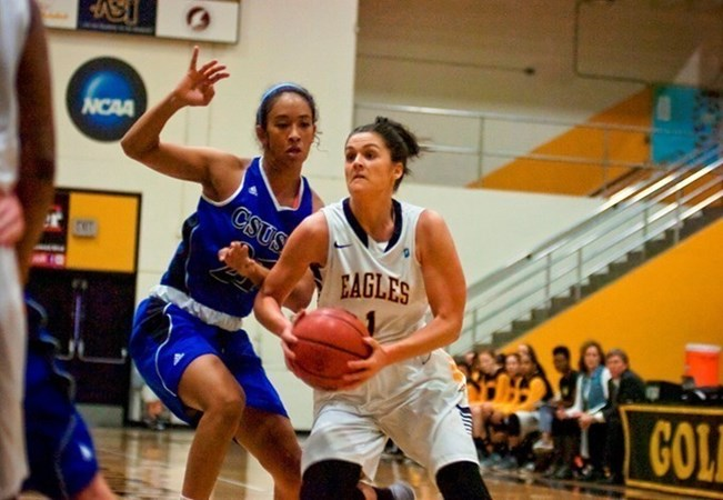 Golden Eagles Get Hot And Beat Humboldt State Cal State La