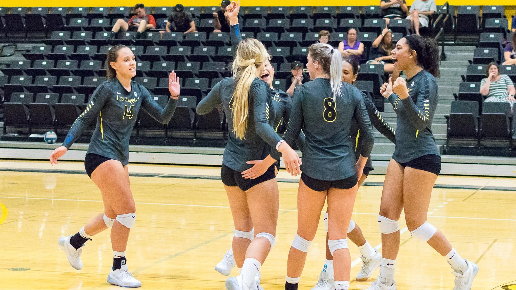 Golden Eagles Open Ccaa Play With Big Win At Chico Cal State La Athletics